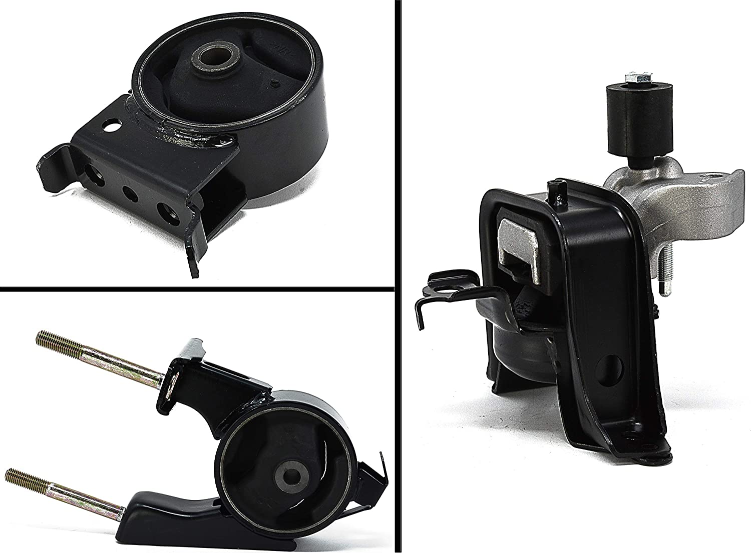 RP Remarkable Power Engine Motor Motor Mount Set Kit 3PCS Compatible With Echo 1.5L 2000-2005 /& Compatible With Scion xA xB 2004-2006
