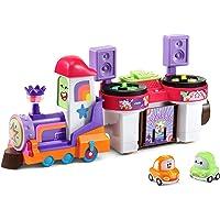 VTech Toot-Toot Cory Carson DJ Train Trax & The Roll Train - Interative Pretend Musical Train and DJ for Kids - 528903…
