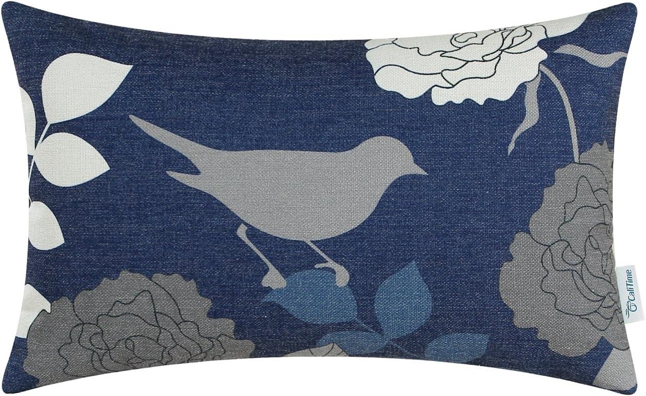 CaliTime Cushion Covers Cases 1 Pack Cushion Throw Pillow Protector Shells for Couch Sofa Bedroom Home Christmas Décor (45cm x 45cm): Amazon.es: Hogar