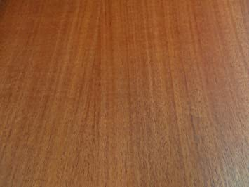 """4/' x 2/' x 1//40th/"""" thick Mahogany African wood veneer 48/"""" x 24/"""" on paper back"""