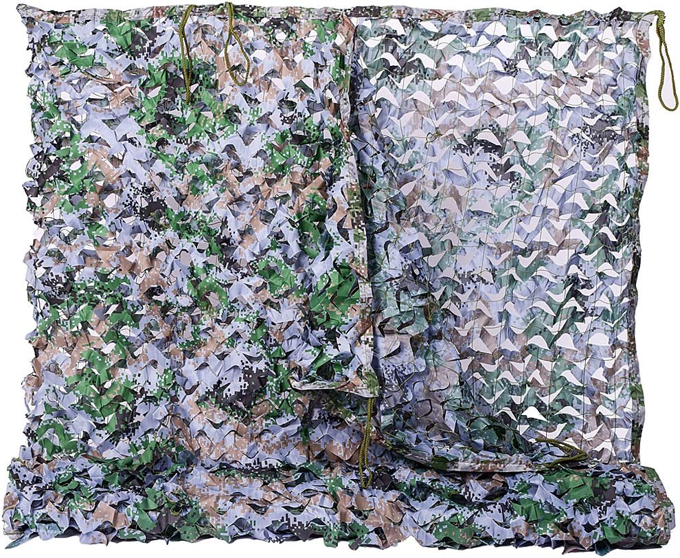 Schnee Tarn Snow camo Tarnnetz 3 x 2 m weiß camouflage Jagd Hunter Army Military