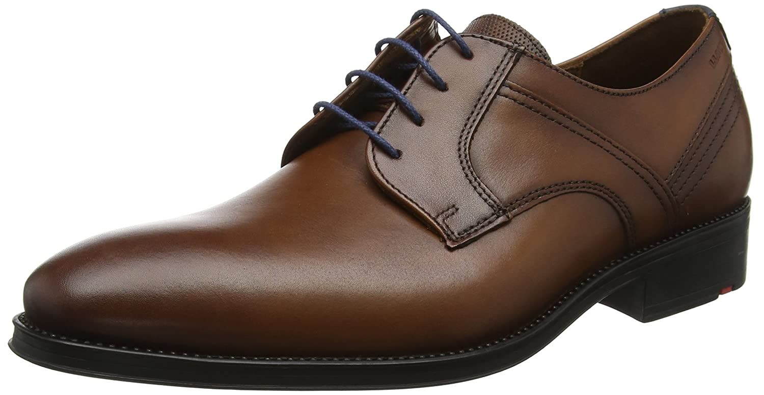 Marronee (Cognac Midnight 3) LLOYD Gala, Sautope Stringate Derby Uomo