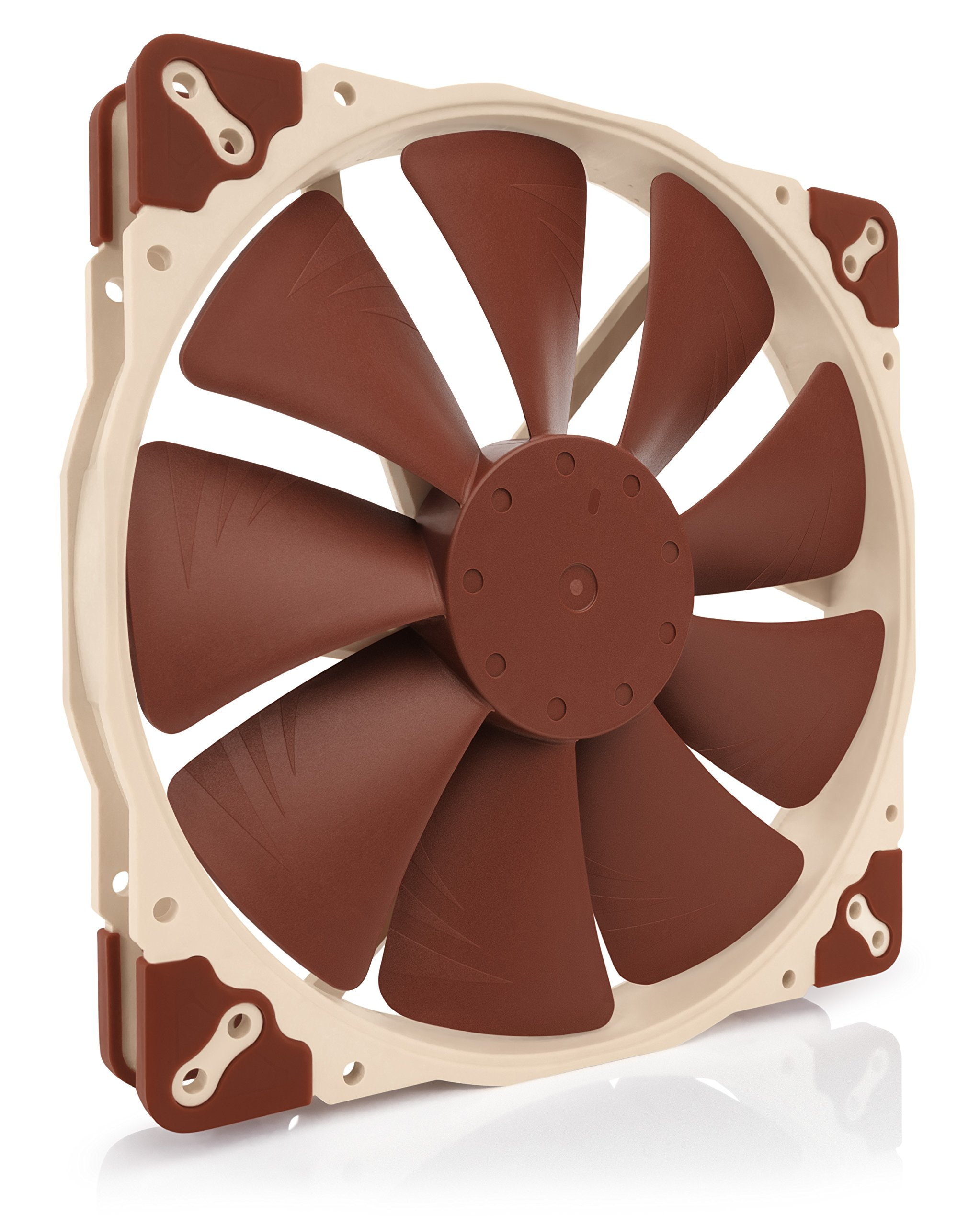 Noctua NF-A20 PWM, Premium Quiet Fan, 4-Pin (200x30mm, Brown) by NOCTUA