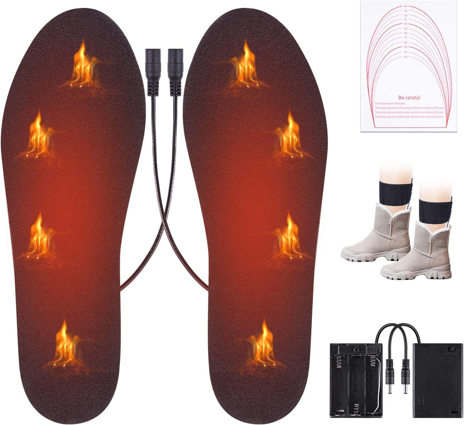 Edobil Thermal Heated Insoles