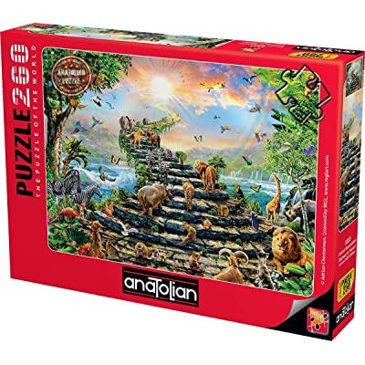 Anatolian Puzzle - Stairway to Heaven, 260 Piece Jigsaw Puzzle, Code: 3323: Toys & Games