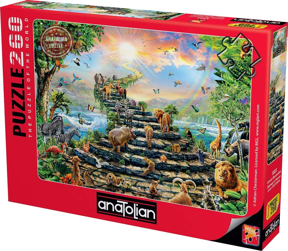 Stairway to Heaven Anatolian Puzzle Code: 3323 260 Piece Jigsaw Puzzle