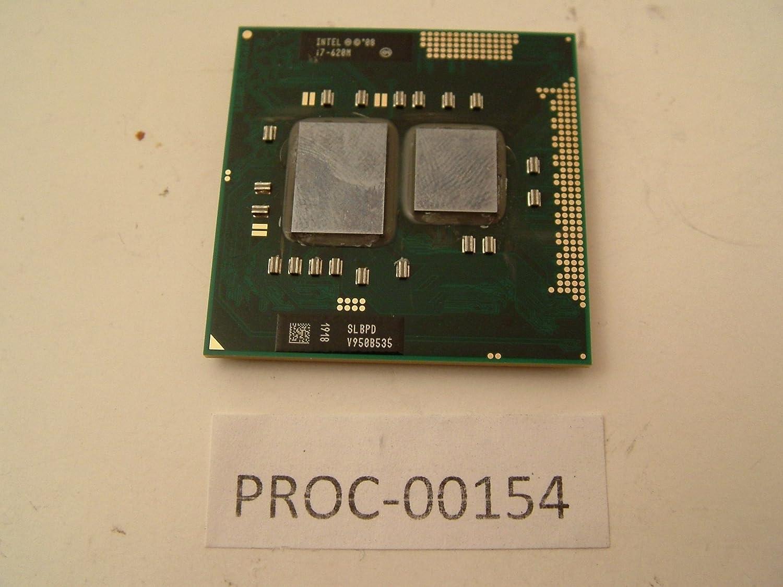 Intel 2.67 GHz Core i7 CPU Processor I7-620M SLBPD Dell Latitude E6410