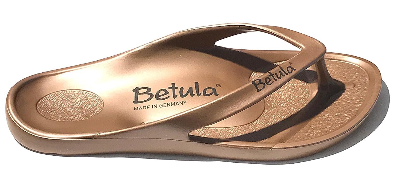 Betula by Birkenstock - Sandalias Flip-Flop de Caucho Unisex Adulto 46 EU