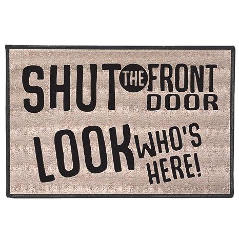 Amazon Universal Direct Brands Shut The Front Door Doormat