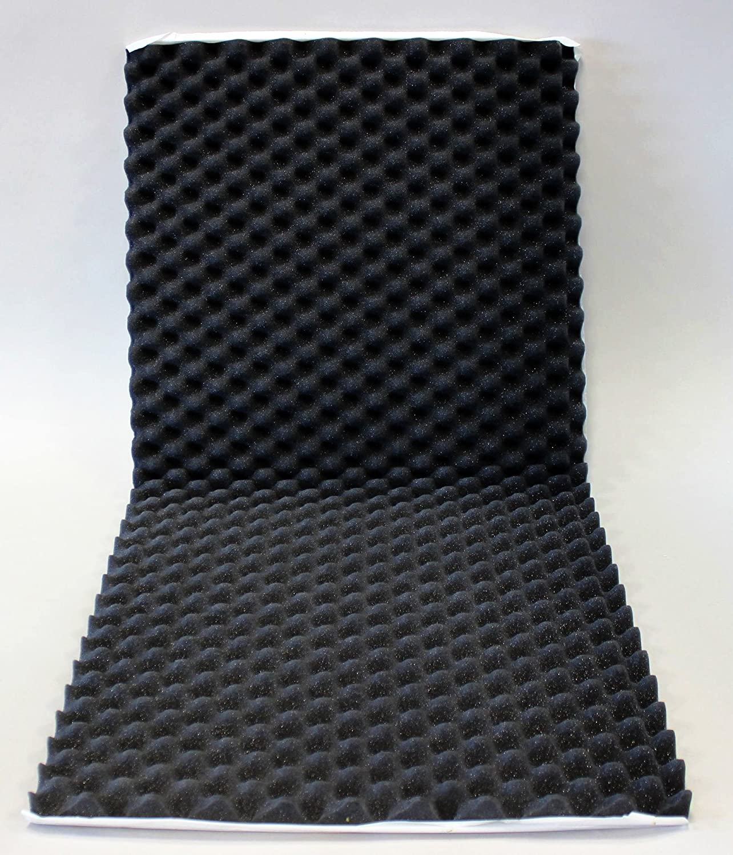 1 porte, tr/ès /épais pour une meilleure isolation, auto-adh/ésifs, Jeu de 4 Hama Kit de panneaux isolants Noir