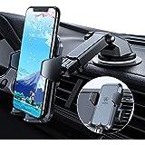 【業界初全面保護設計】車載ホルダー VANMASS スマホホルダー 車 携帯ホルダー 片手操作 超安定 スマホスタンド 粘着ゲル吸盤&吹き出し口式兼用 ワンタッチ/360度回転/伸縮アーム iPhone/Samsung/Sony/LG/HUAWEI/AQUOSなどスマートフォンに対応