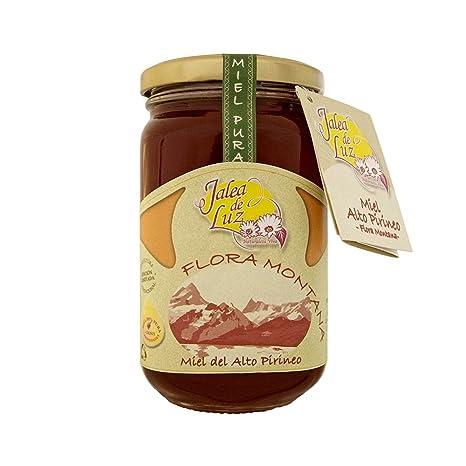 Jalea de Luz Miel Cruda Pura de Flora Montana - 500 gr.: Amazon.es: Alimentación y bebidas