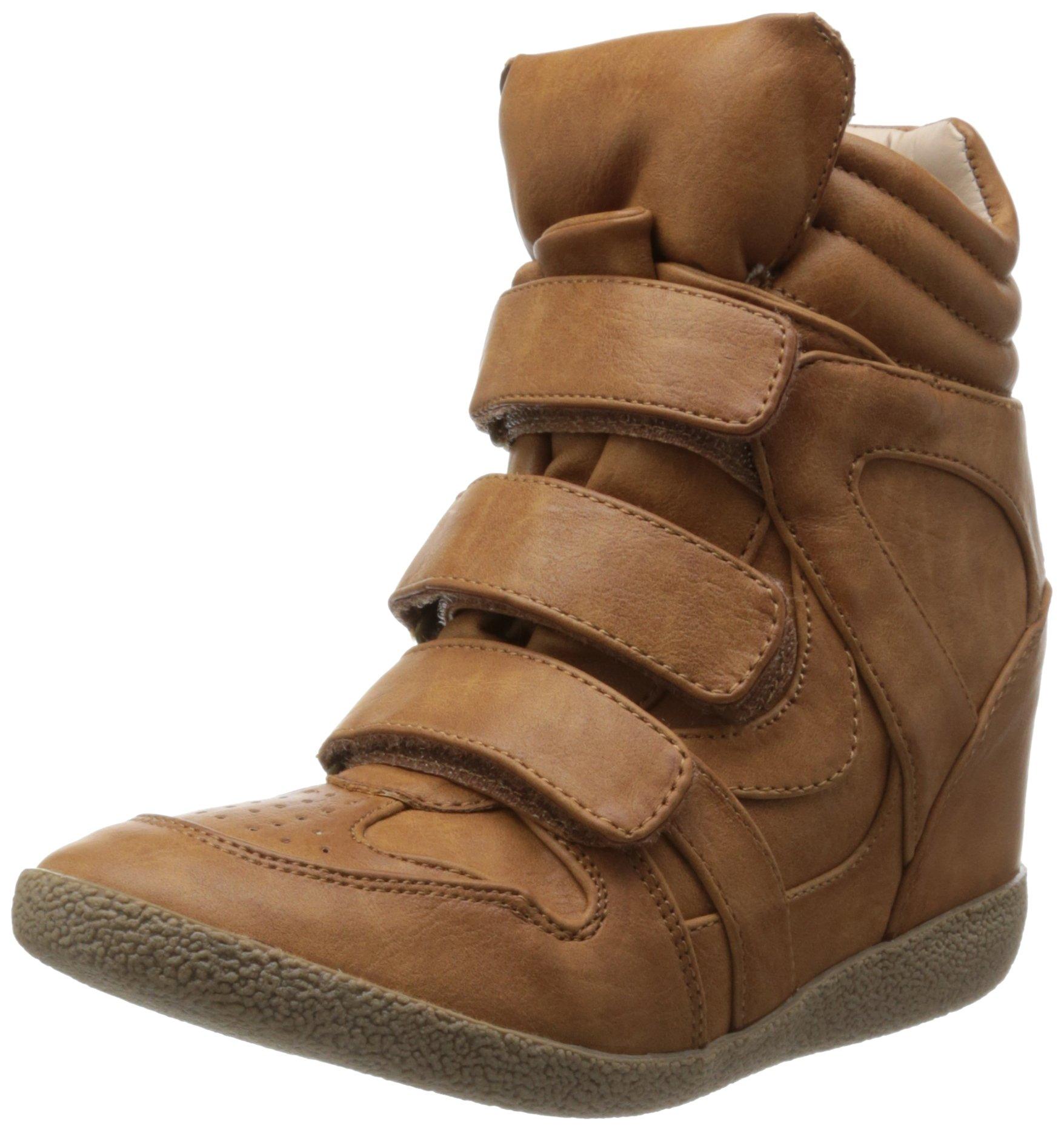 Steve Madden Women's Hilight Sneaker,Cognac,9 M US