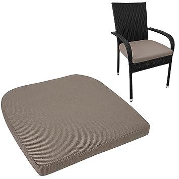 Asiento Almohada 48 x 48 cm - 6 cm de grosor silla Cojín ...
