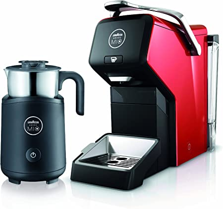Lavazza A Modo Mio LM3150 ESPRIA - Cafetera de cápsulas (1200 W), color rojo: Amazon.es: Hogar