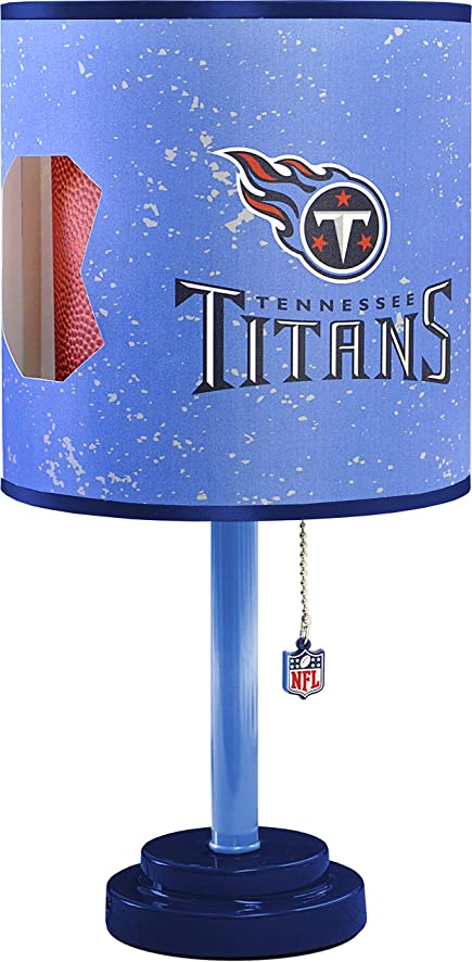 Amazon nfl tennessee titans table lamp with die cut lamp shade nfl tennessee titans table lamp with die cut lamp shade mozeypictures Image collections