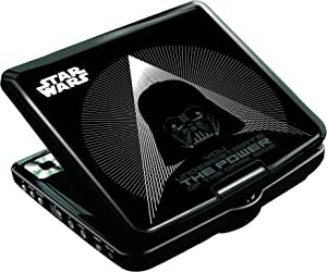 Amazon.es: Star Wars-Dvdp6Sw Star Wars Lector Dvd Portátil con Puerto Color negro Lexibook DVDP6SW