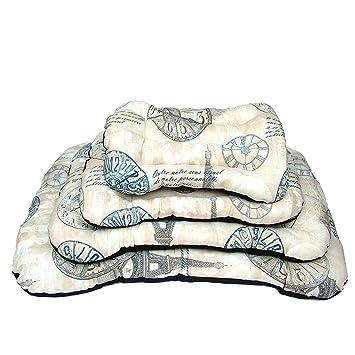 YOMMY® Cama Colchoneta Rectángulo para Perros Gatos Mascotas Material Alta Calidad Colores se envían al azar Tamaño S/M/L/XL YM-1290 (S): Amazon.es: ...