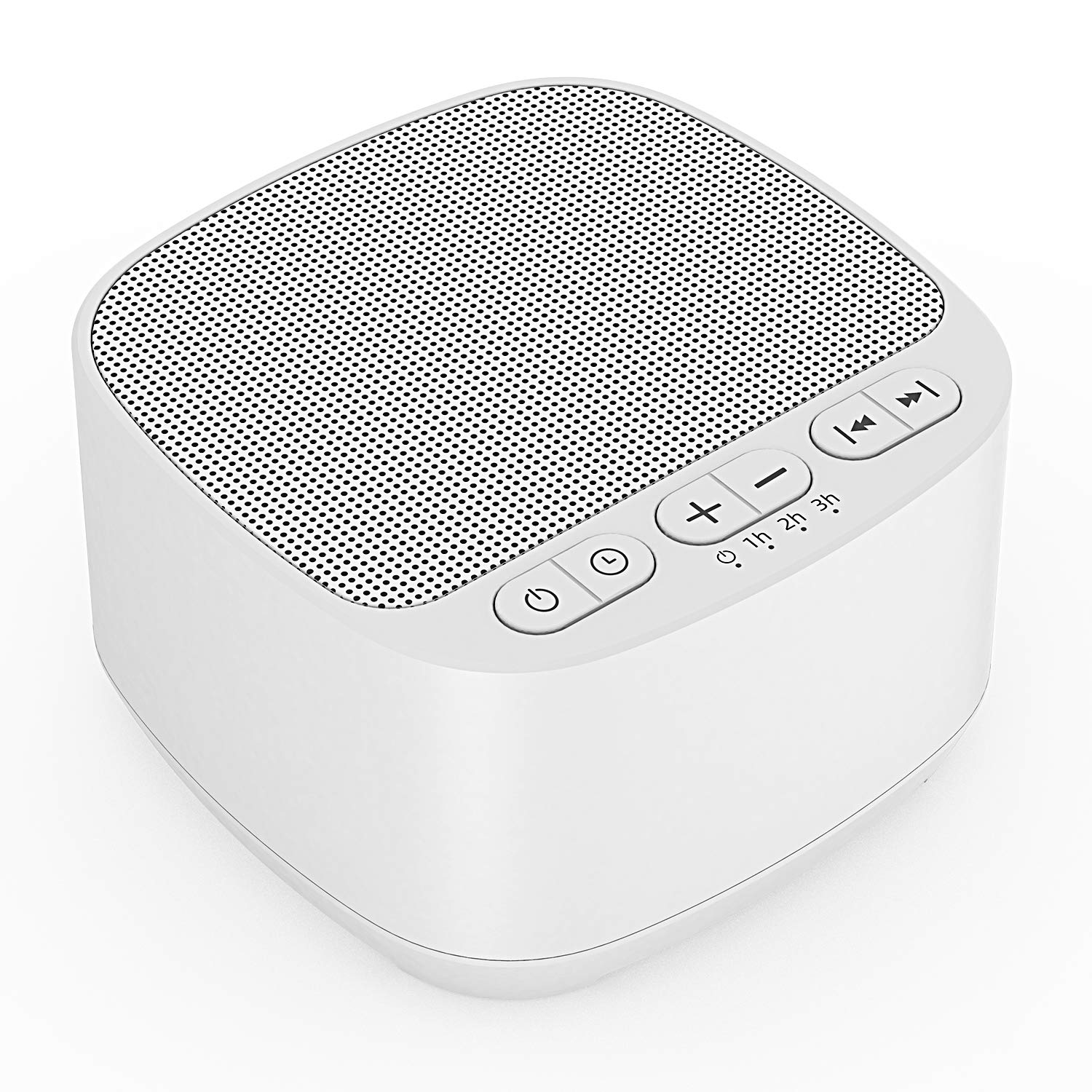White Noise Machine, Sleep Sound Machine with 40 High Fidelity Sounds - White Noise/Fan/Nature/Ambient Sounds, Baby Sound Machine, Sleep Sound Therapy for Home (3 Auto-Off Timer)