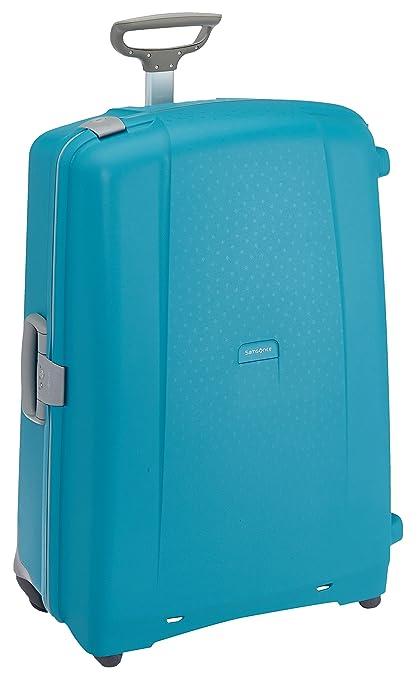 60d523f69 Samsonite Aeris - Spinner 82 - 5,40 Kg, Suitcase 81 cm, 118.5 L, Cielo  Blue: Amazon.co.uk: Luggage
