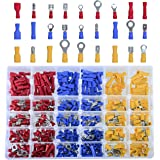 DEDC 480Pcs Heat Shrink Wire Connector Kit Electrical Insulated Crimp Terminals Kits Automotive Terminals Set