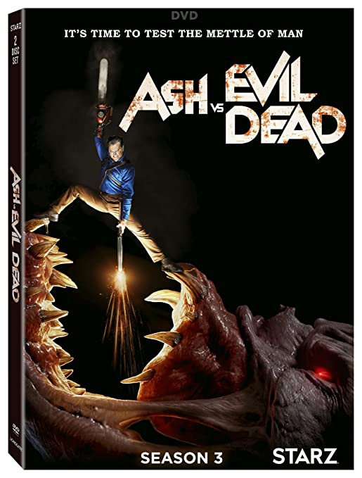 Amazon com: Ash Vs  Evil Dead: Season 3: Bruce Campbell, Ray