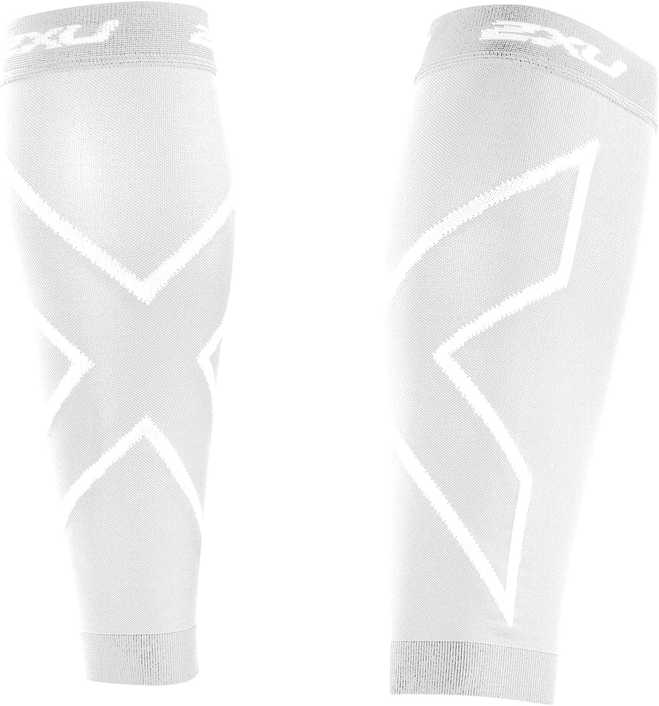 2XU Mens Compression Calf Sleeves Refresh Compression Calf Sleeve