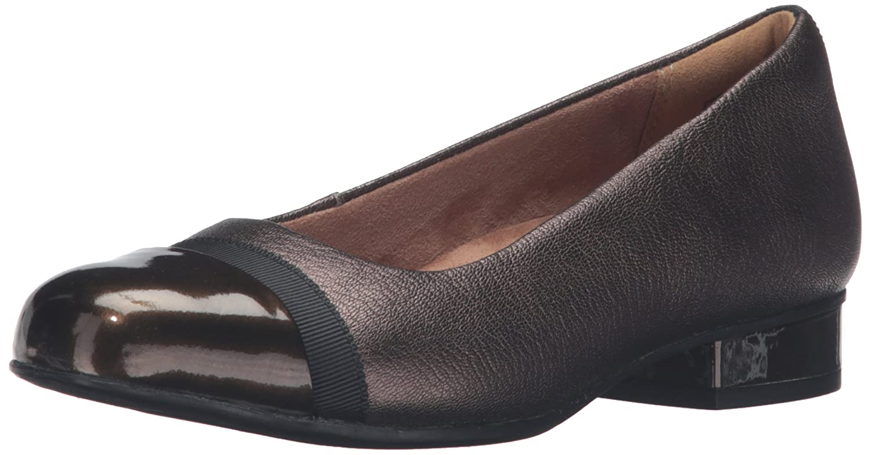 Clarks Damen Keesha Rosa Bronze Snake Leather 36 M EU