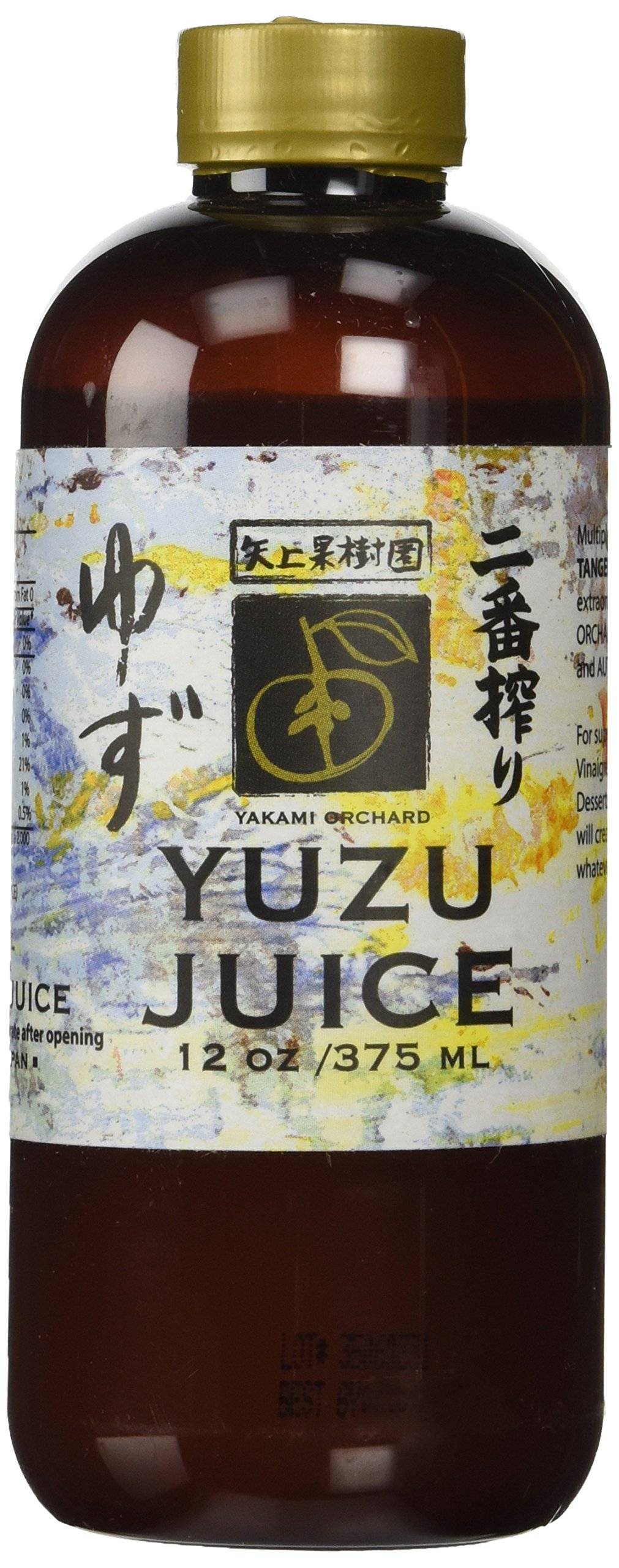Yakami Orchard 100 % Pure Japanese Yuzu Juice, 12 Ounce