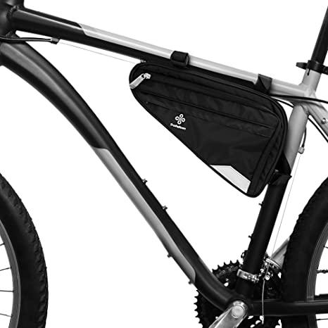 Bolsa para Cuadro de Bicicleta Prémium I Bolsa Espaciosa para Bici ...