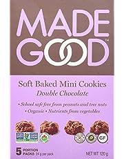 MadeGood Double Chocolate Soft Mini Cookies, 120g