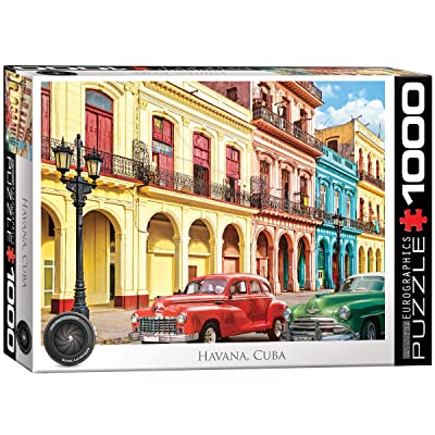 EuroGraphics La Havana, Cuba 1000-Piece Puzzle: Toys & Games