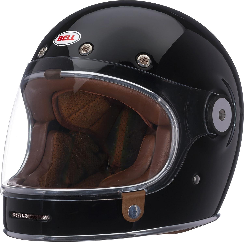 c4cb2e22c7514 Amazon.com  Bell Bullitt Full-Face Motorcycle Helmet (Solid Gloss Black