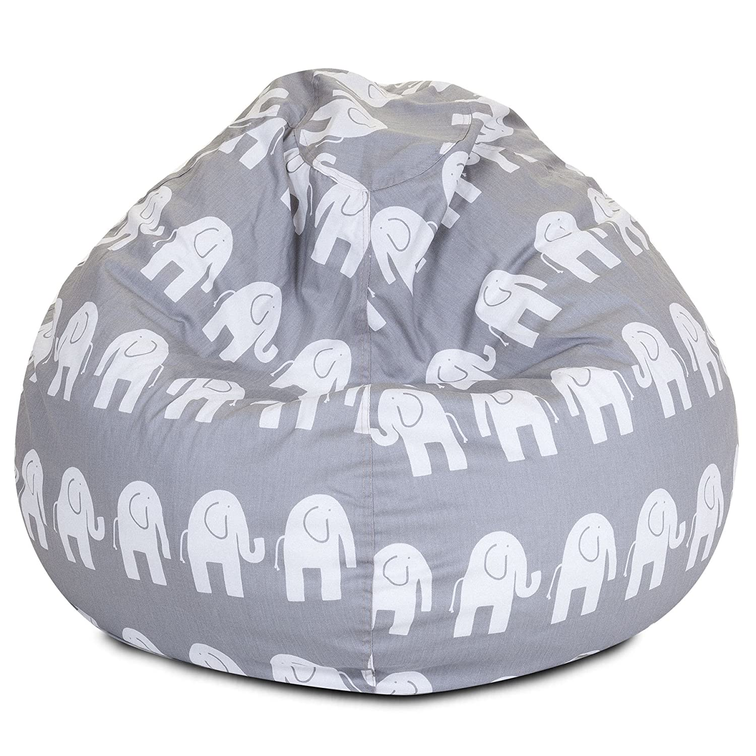 Amazon Majestic Home Goods Bean Bag Gray Ellie Kitchen & Dining