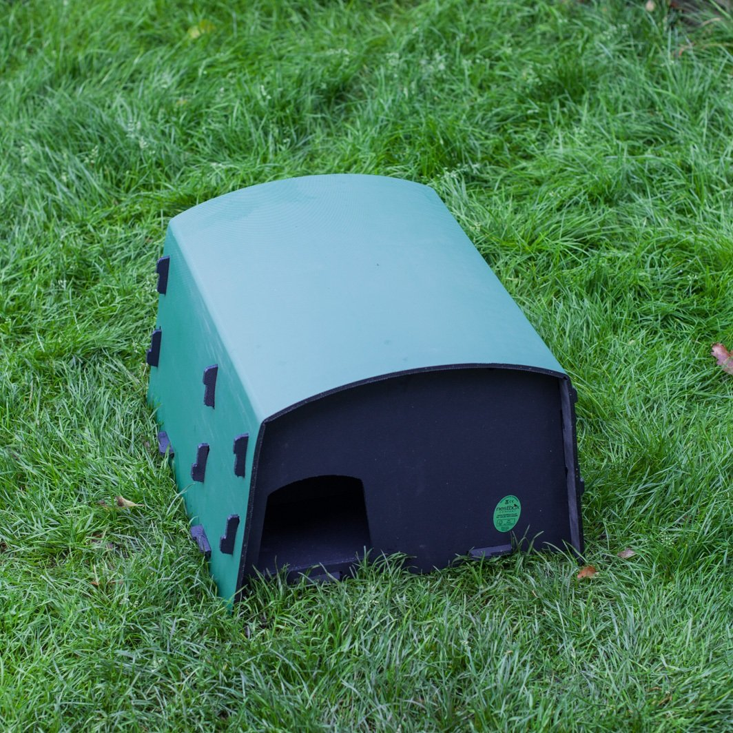 Eco Hedgehog Nest Box and Hibernation House Nestbox Co