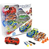 Modarri Delux 3 Pack Build Your Car Kit Toy Set (S1,X1,T1) - Ultimate Toy Car: Make Your Own Car Toy - For Thousands of…