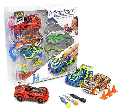 Amazon Com Modarri Delux 3 Pack Build Your Car Kit Toy Set S1 X1