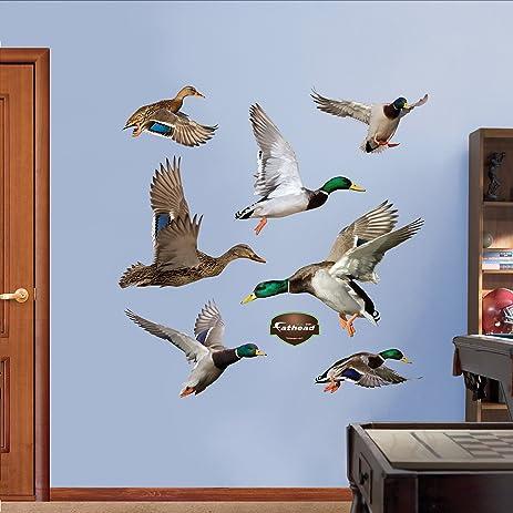 Amazon.com: FATHEAD Ducks Graphic Wall Décor: Home & Kitchen