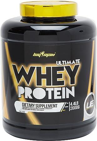 Big Man Nutrition Ultimate Whey Proteína Compuesta, Yogurt - 2000 gr