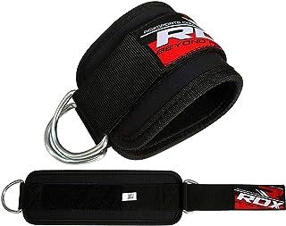 RDX Tobillo Doble D Ring Correa Multi Gym Cable Muslo de la Pierna Polea de Elevación