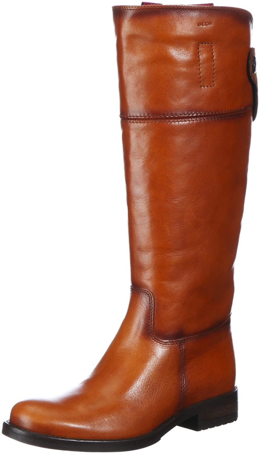 bottines geox donna trish marron