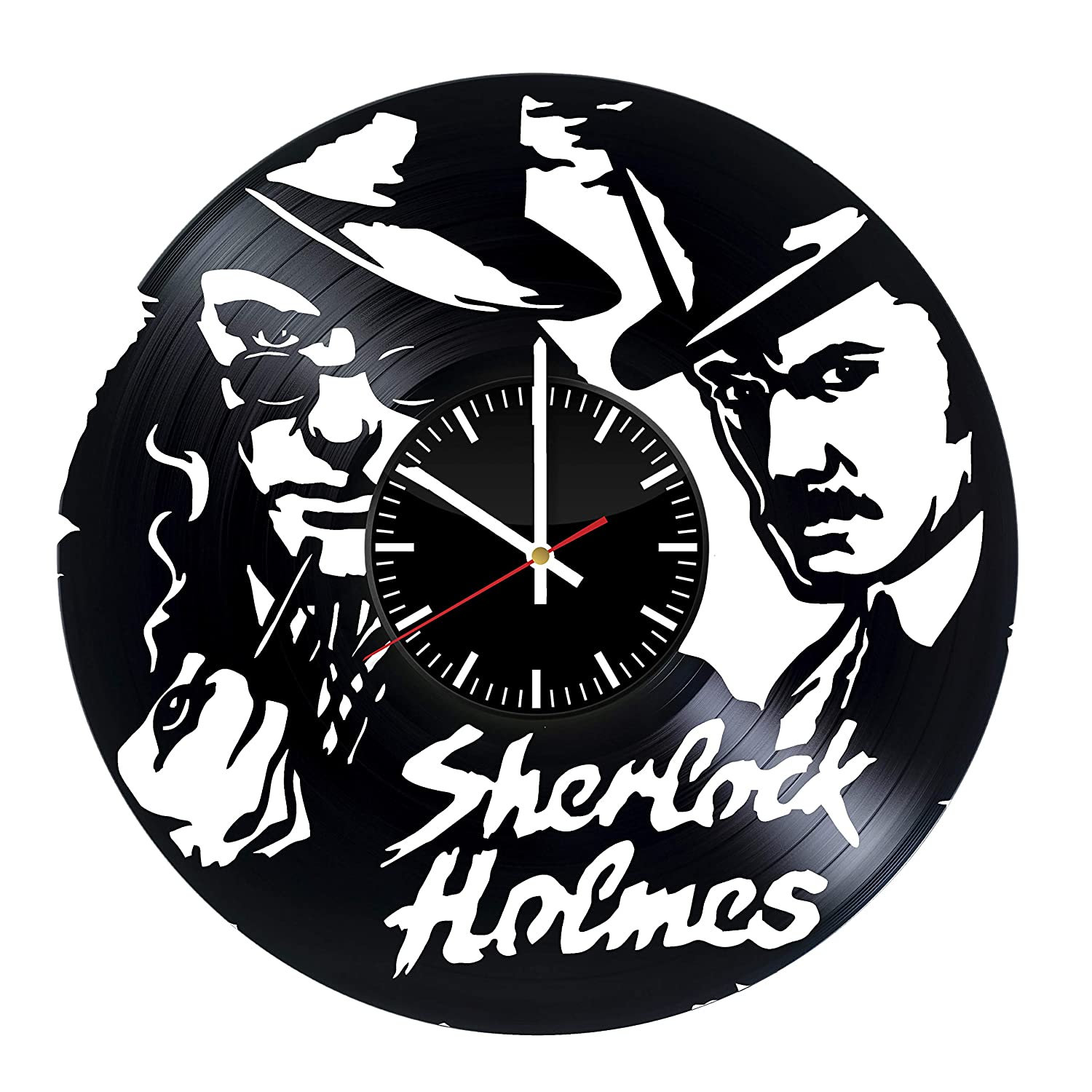 Amazon.com: Victory Gifts Store Sherlock Holmes Fan Gift Vinyl Record Wall Clock – Unique Gift for Kids and Adults - Home Wall Decor for Any Space: Home & ...