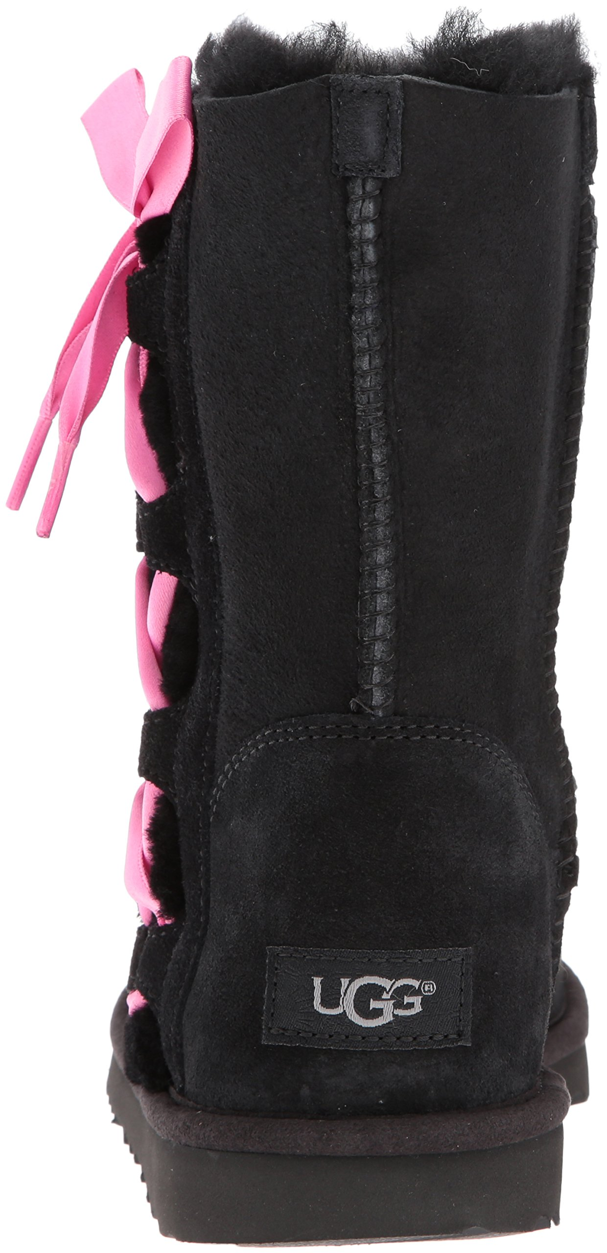 UGG Girls K Pala Pull-on Boot, Black, 1 M US Little Kid by UGG (Image #2)