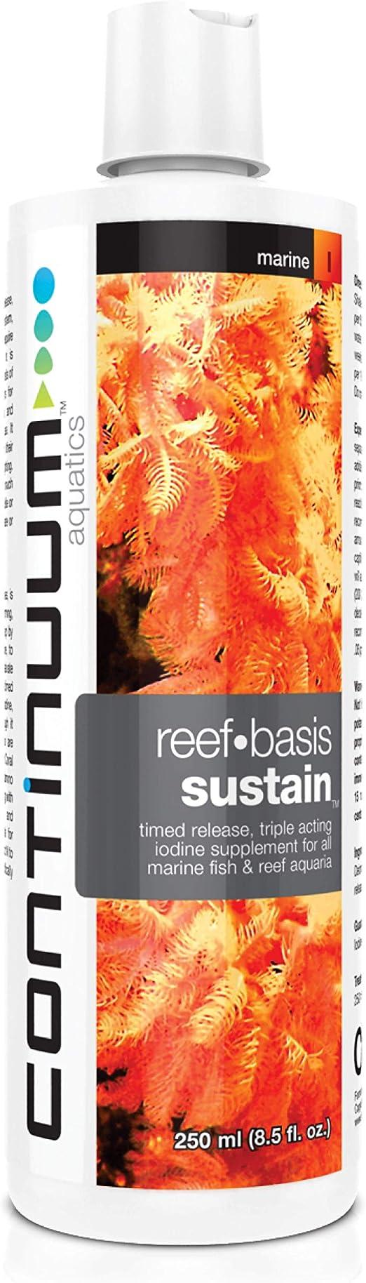 Continuum Aquatics ACO30536 Sustain Iodine for Aquarium, 8.5-Ounce