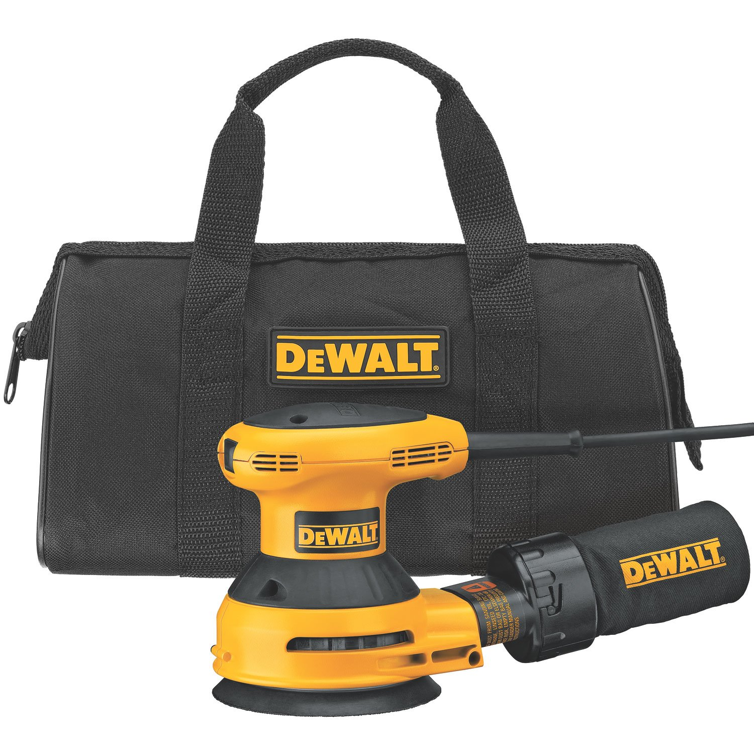 dewalt sander how to use