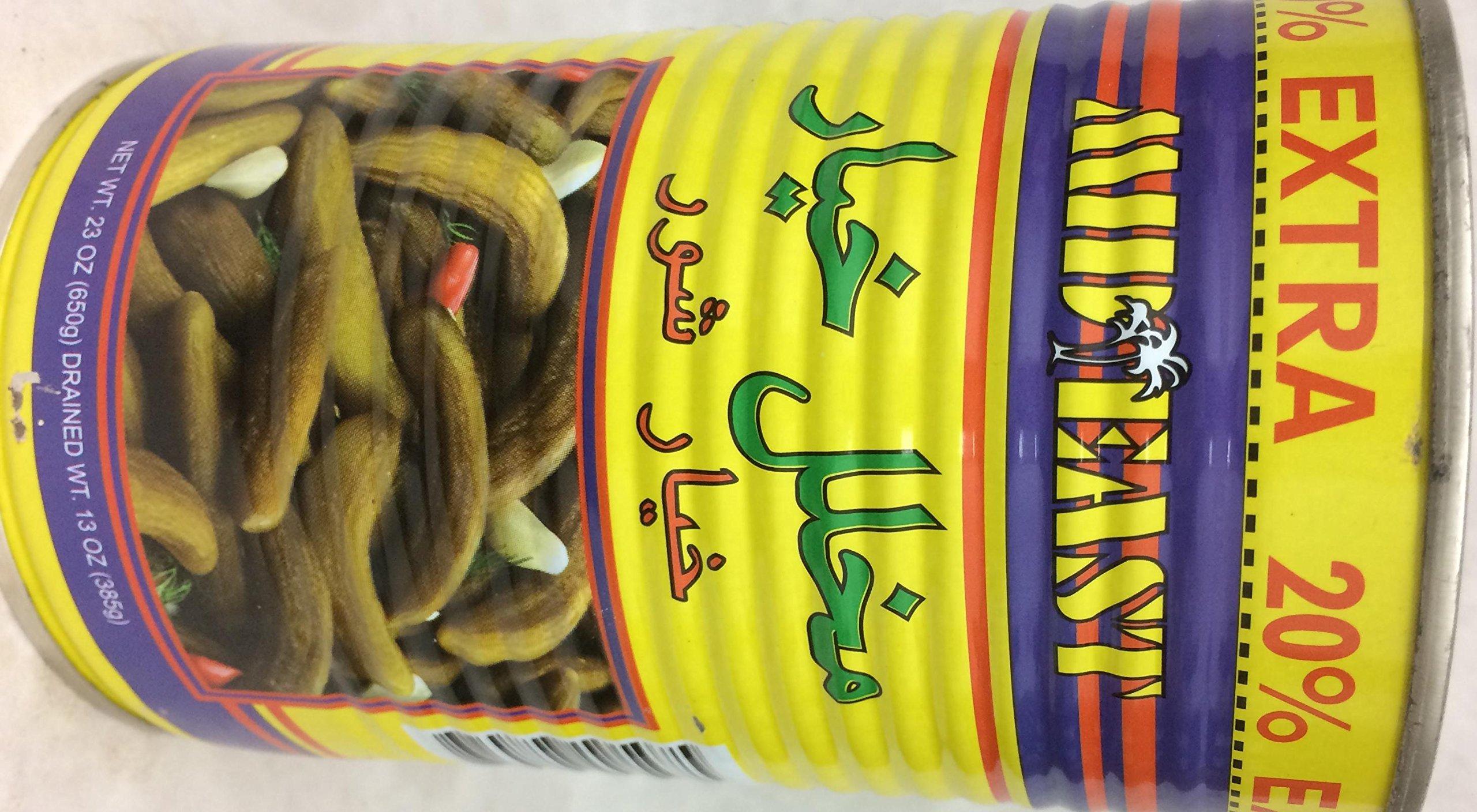 Mid East Pickles Cucumbers In Brine 13 Oz. Pk Of 3.