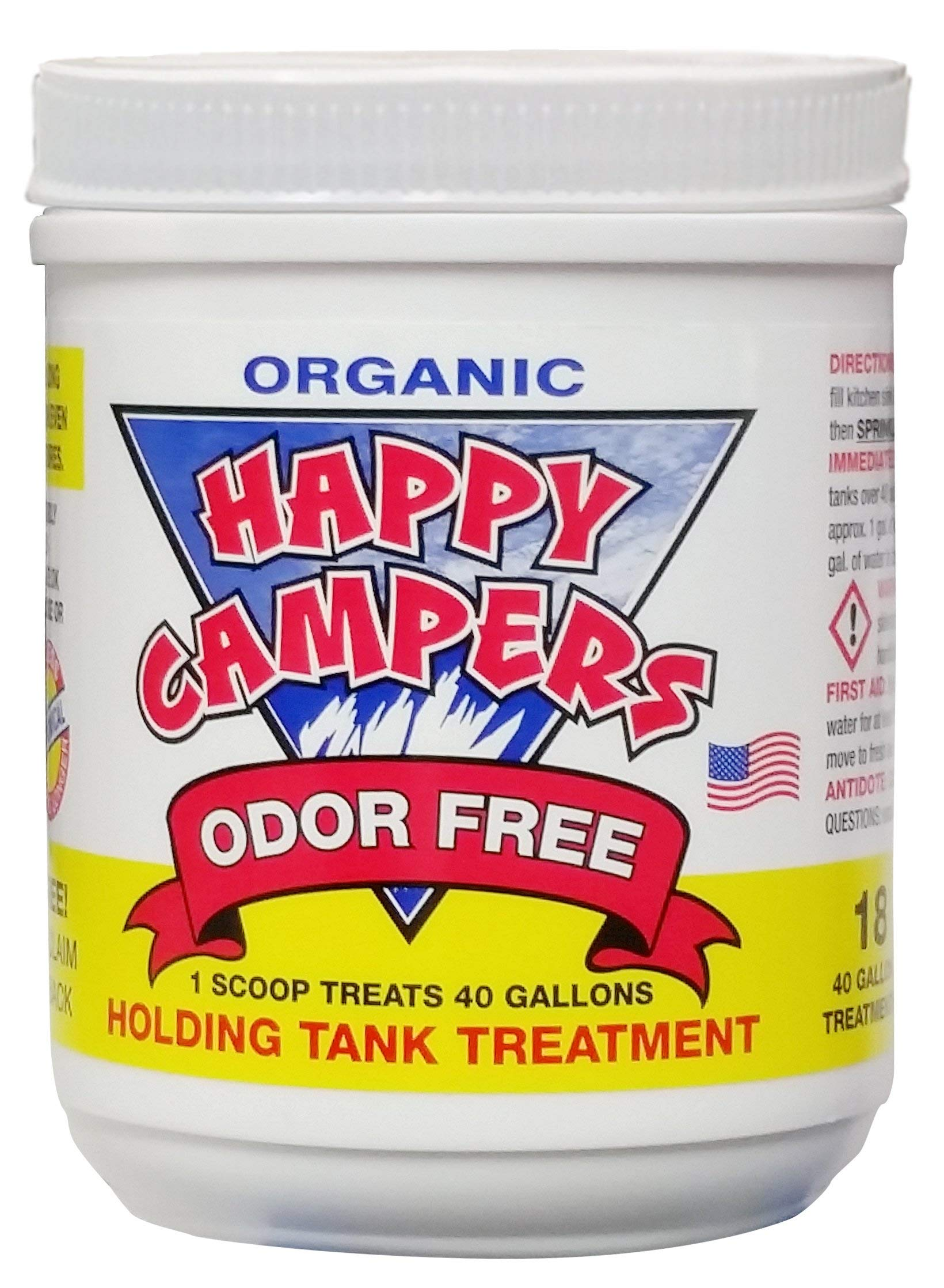 Happy Campers Organic RV Holding Tank Treatment - 18 treatments by Happy Campers