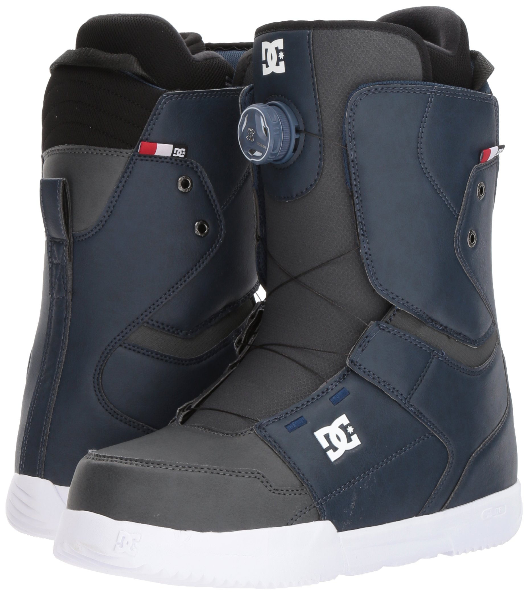 DC Men's Scout Boa Snowboard Boots, Insignia Blue, 7.5 by DC (Image #6)