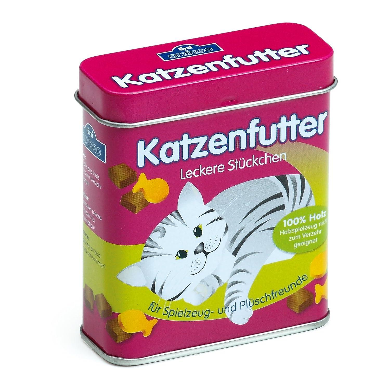 Erzi Katzenfutter in der Dose - Spielzeug-Katzenfutter für den Kaufladen