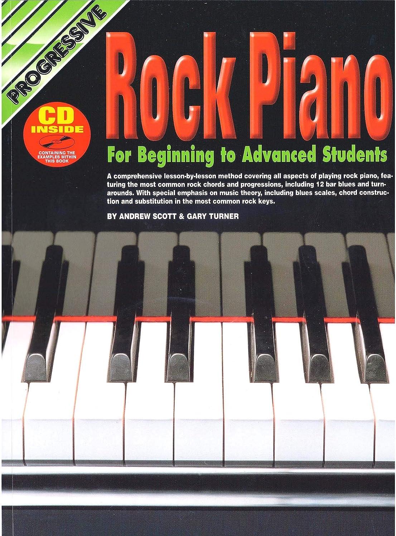 Cómo jugar Rock Piano Para Principiantes Tutor Libro Con CD ...